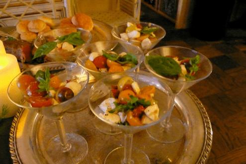 Passed Salads