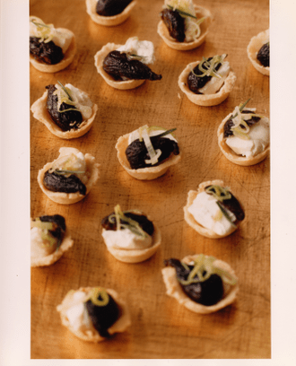 Fig And Goat Cheese Tartlets