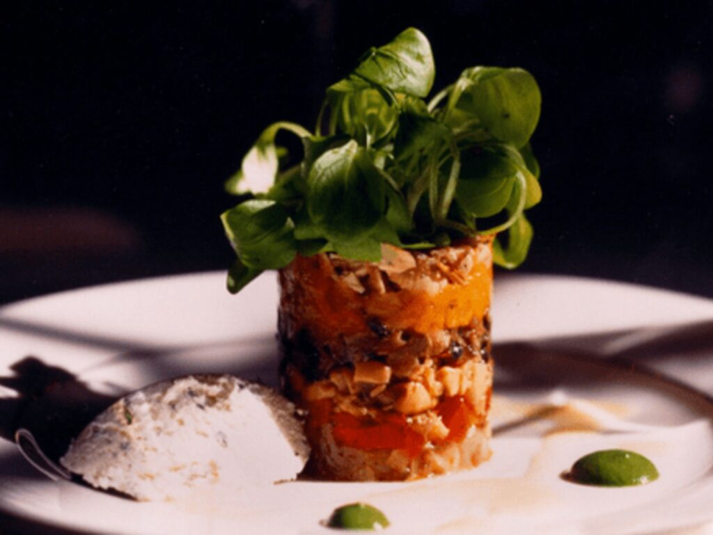 Goat Cheese Timbale