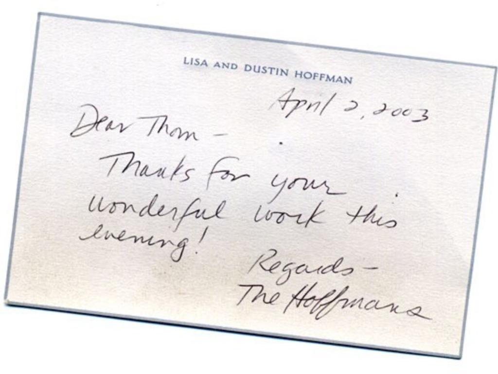 Lisa & Dustin Hoffman