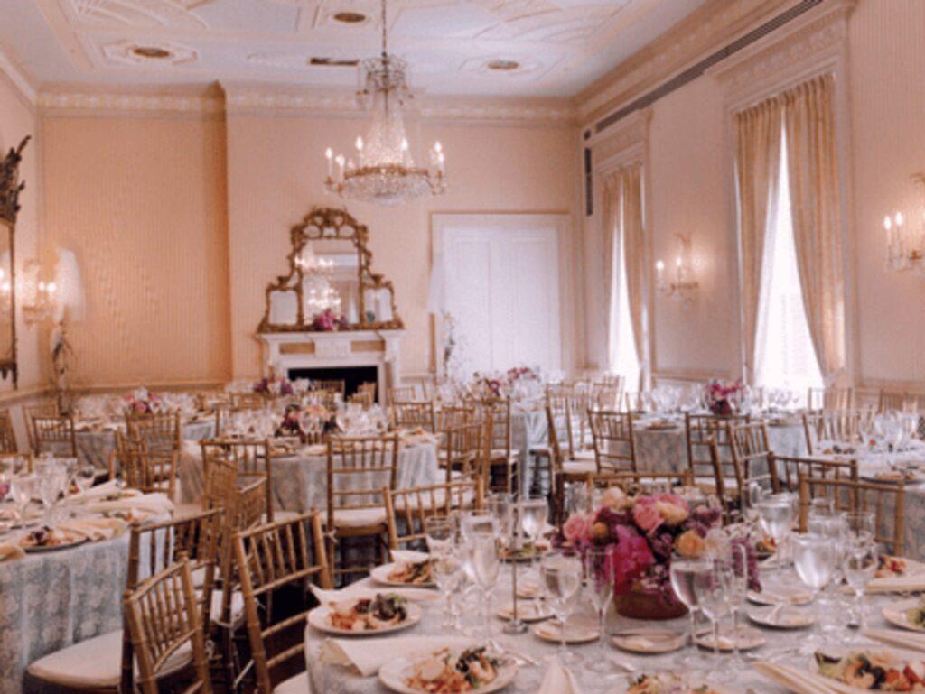 Reception Setup for the Wedding