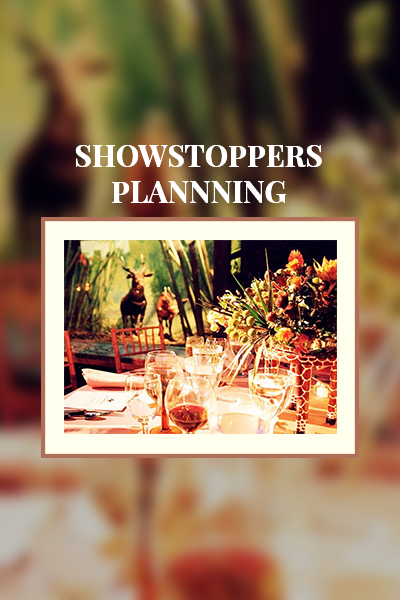 Showstopper Planning
