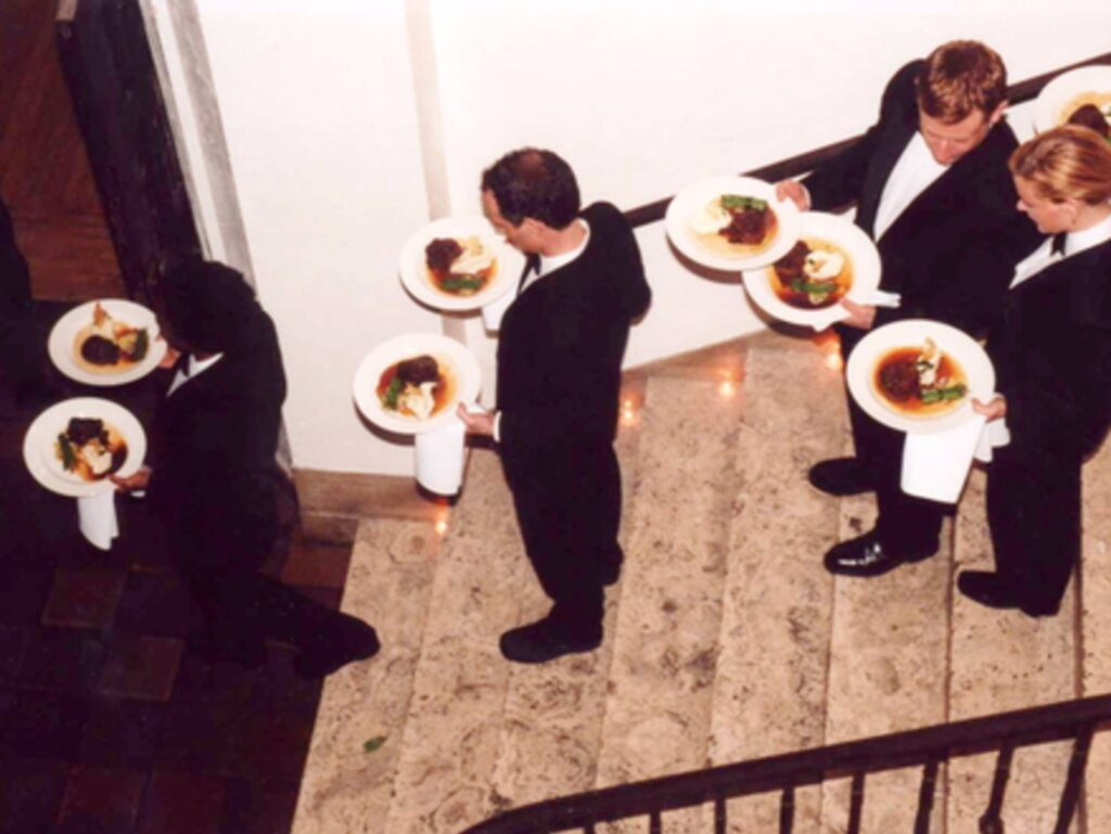Waiters In Reception
